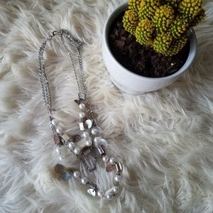 Jewelry - Pearls and shells multi strand necklace